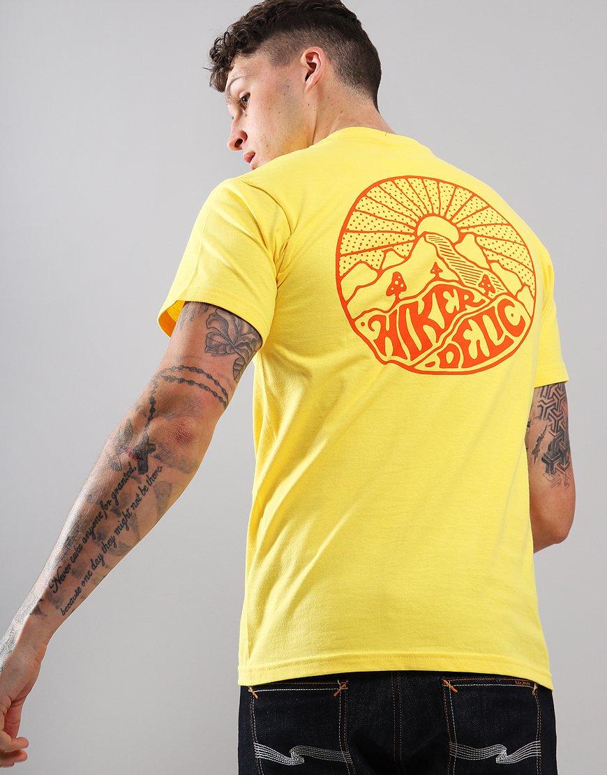 Hikerdelic Core T-Shirt  Yellow