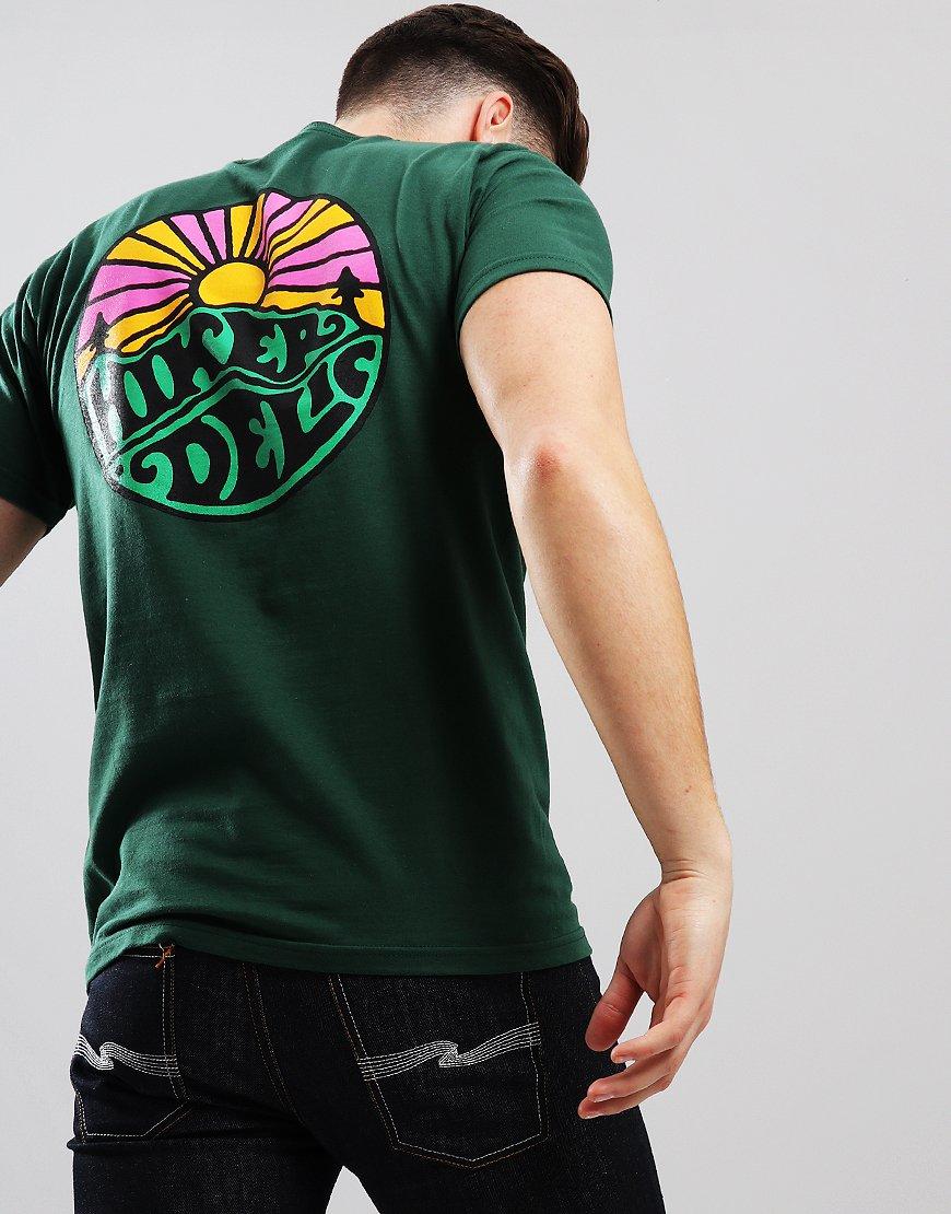 Hikerdelic OG Logo T-Shirt Green