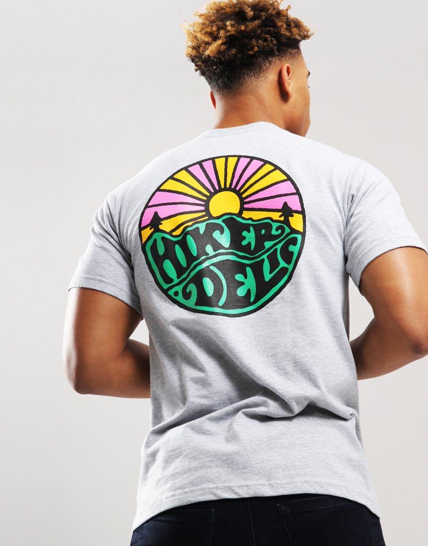 Hikerdelic OG Logo T-Shirt Grey