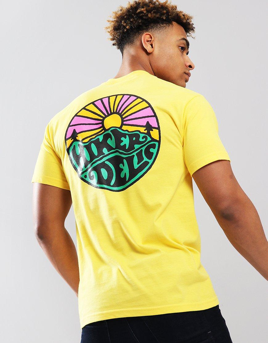 Hikerdelic OG Logo T-shirt Yellow