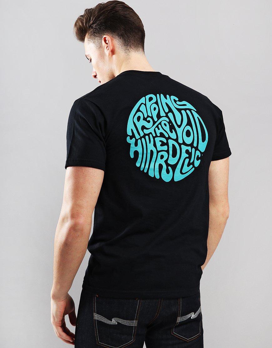Hikerdelic Trip the Void T-Shirt Black