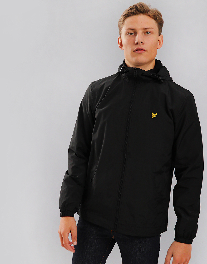Lyle & Scott Hooded Jacket True Black