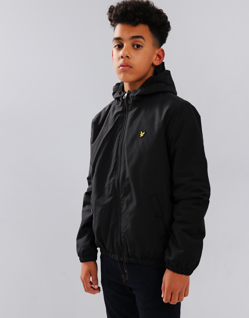 Lyle & Scott Junior Hooded Jacket True Black