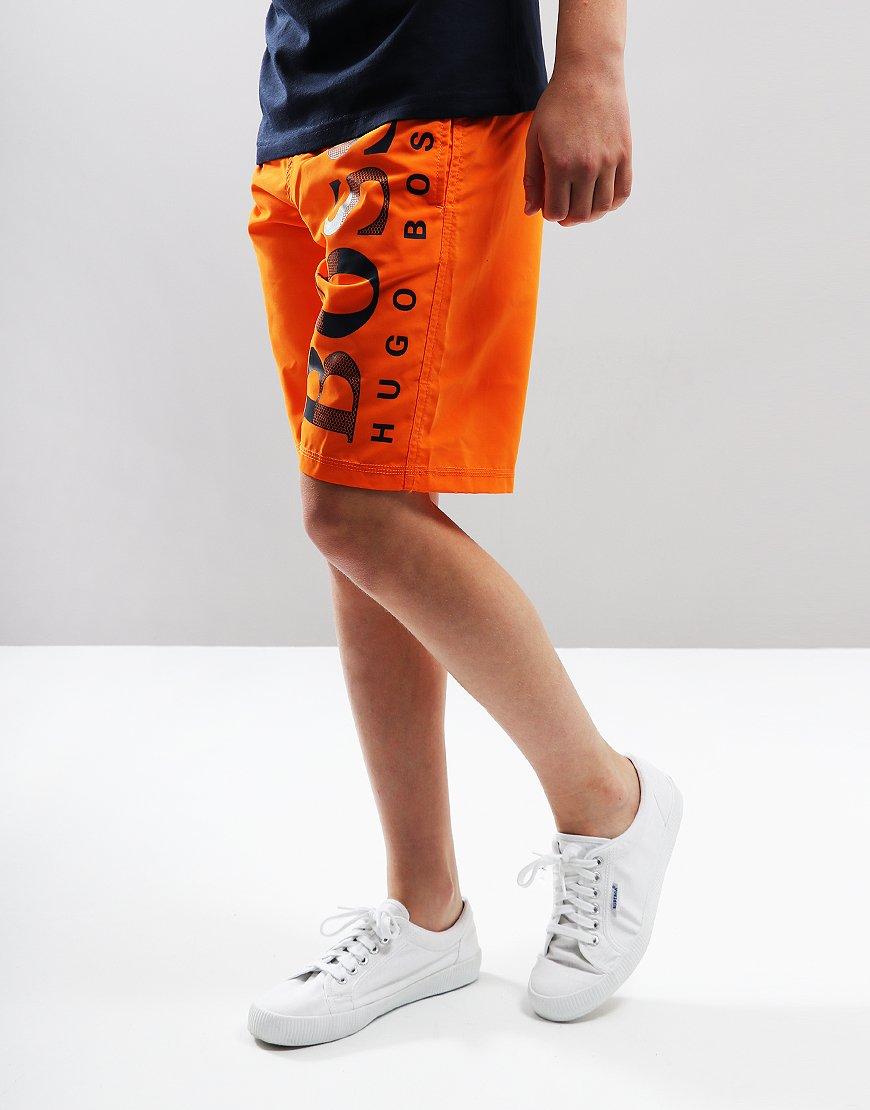 60fa8e4ab8c04 BOSS Kids Swim Shorts Bright Red - Terraces Menswear