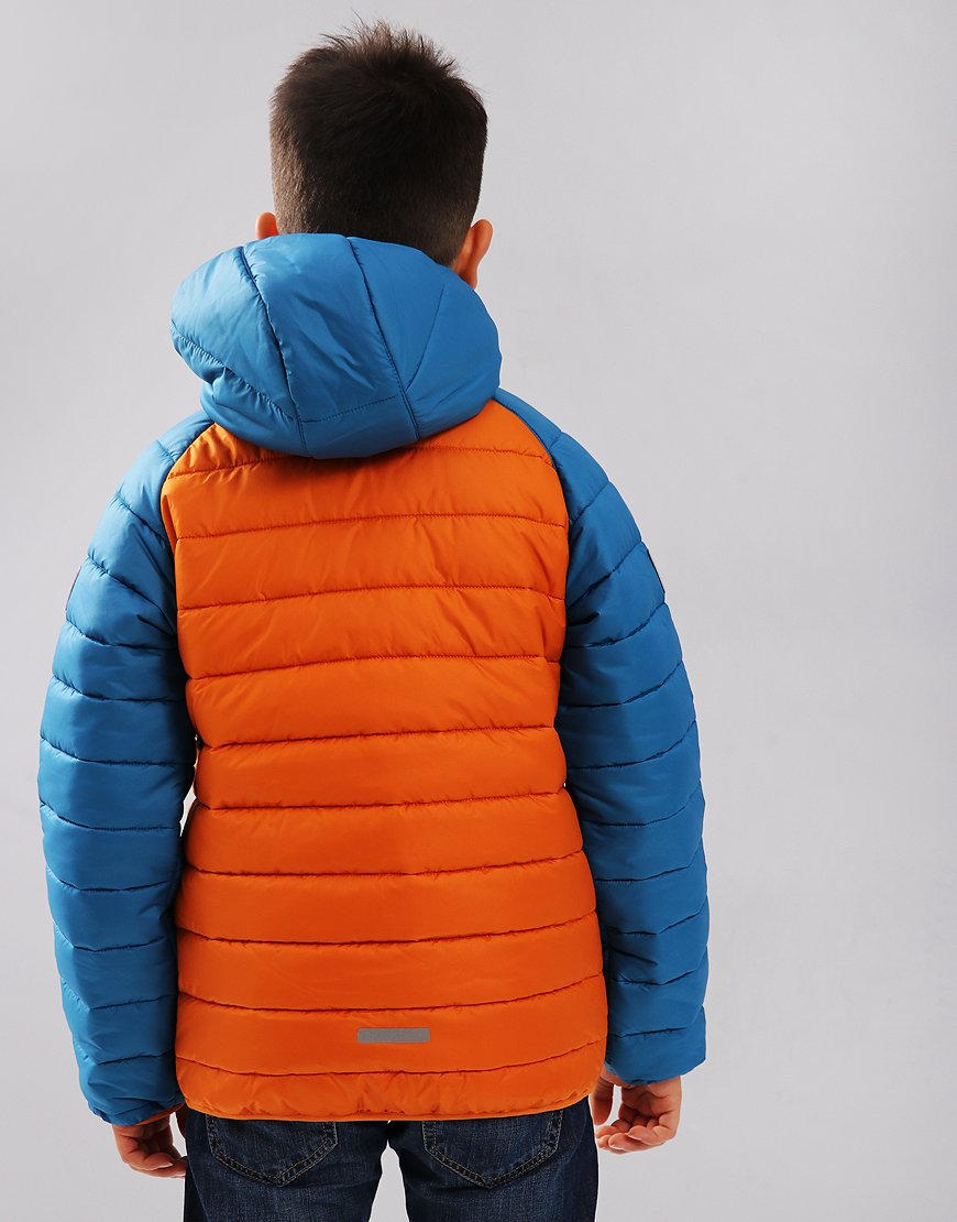 866d222e01b4 Jack Wolfskin Kids Zenon Jacket Orange - Terraces Menswear