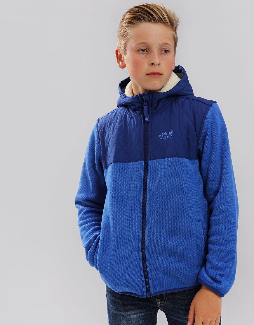 Jack Wolfskin Kids Navajo Fleece Jacket Coastal Blue