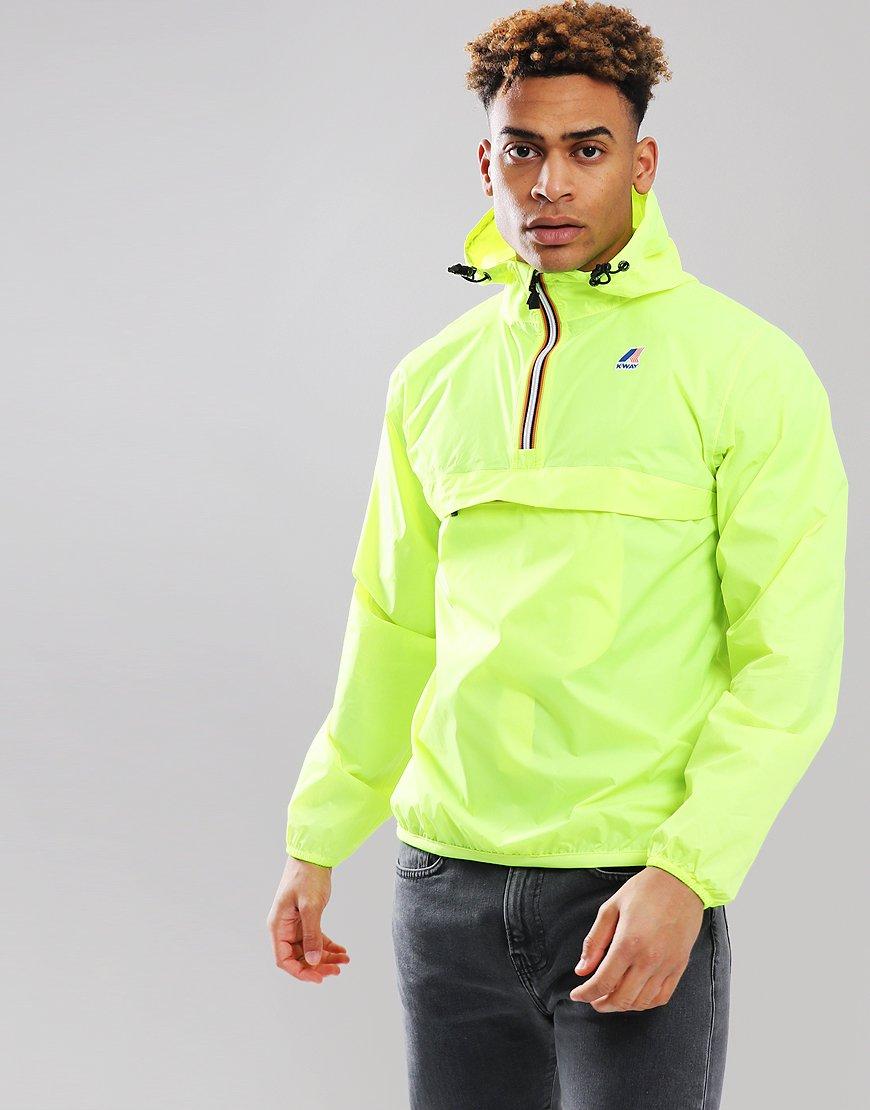 K-Way 3.0 Leon Jacket Yellow Fluo