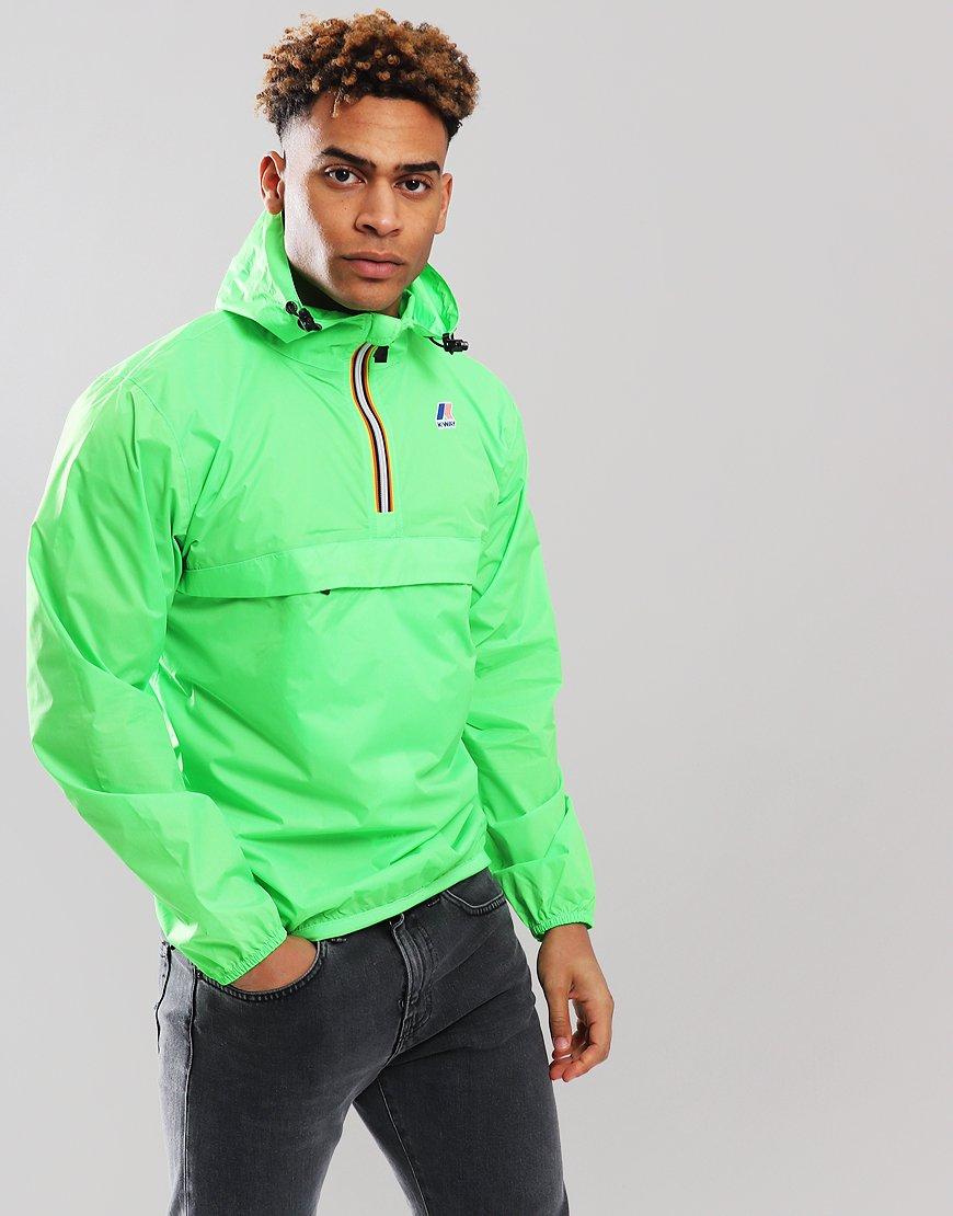 K-Way 3.0 Leon Jacket Green Fluo