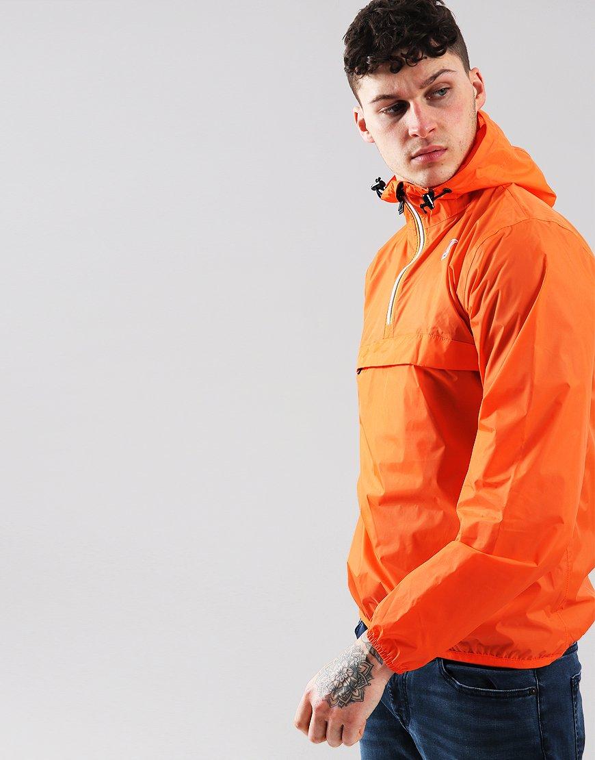 K-Way 3.0 Leon Jacket Orange Flame