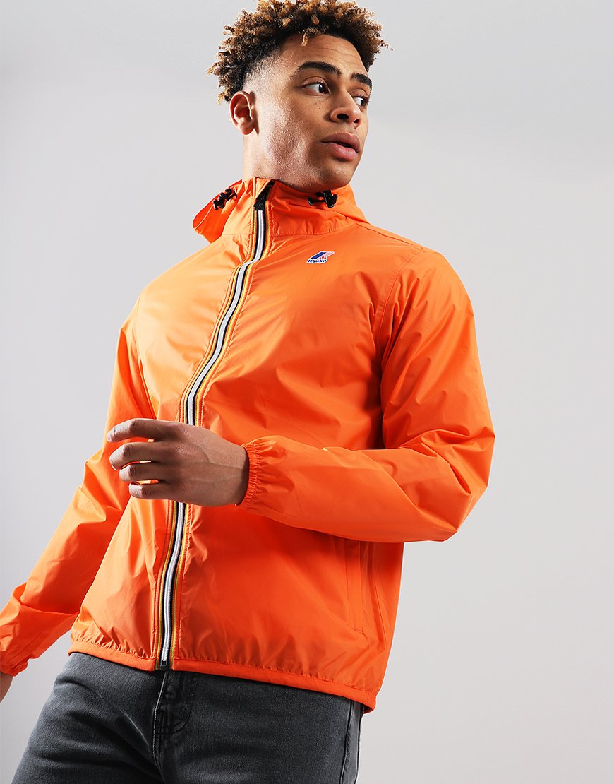 K-Way Claude 3.0 Jacket Orange Flame
