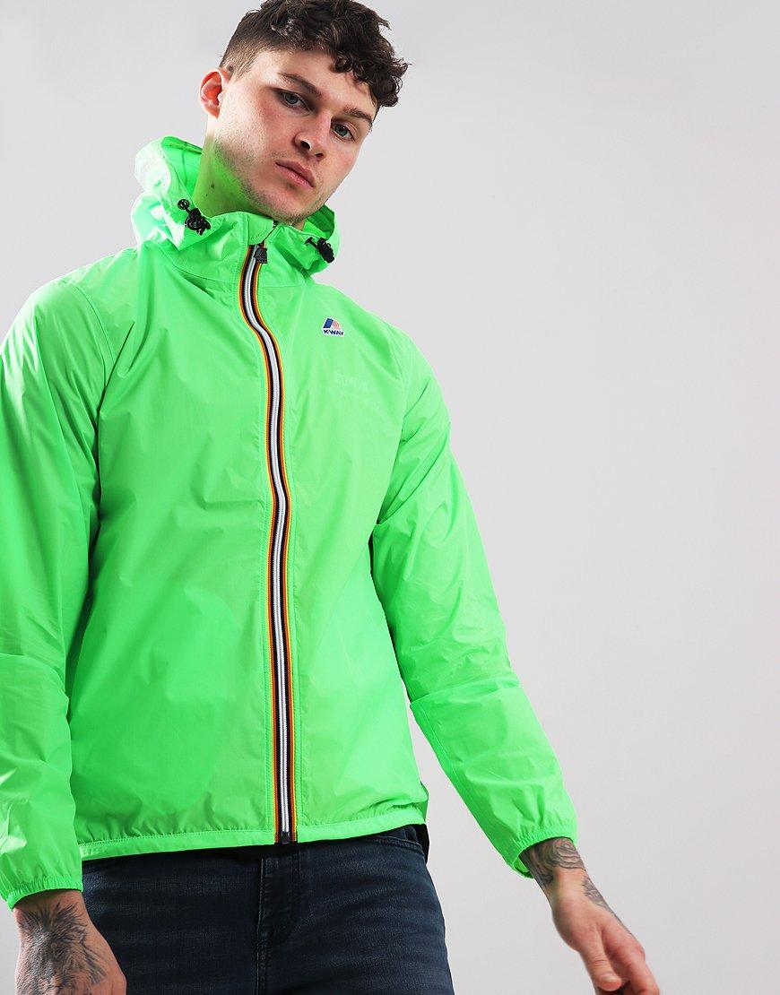 K-Way Claude 3.0 Jacket Green Fluo