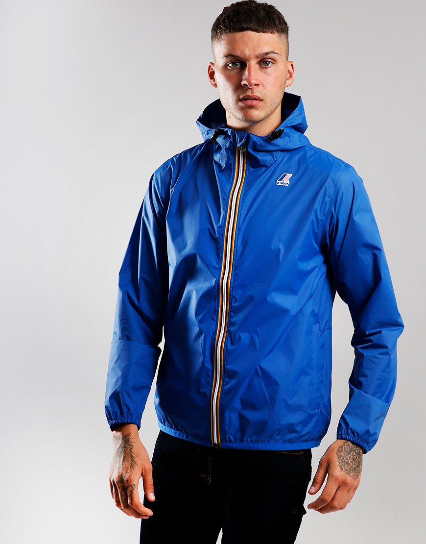 K-Way Claude  Jacket Blue Royal