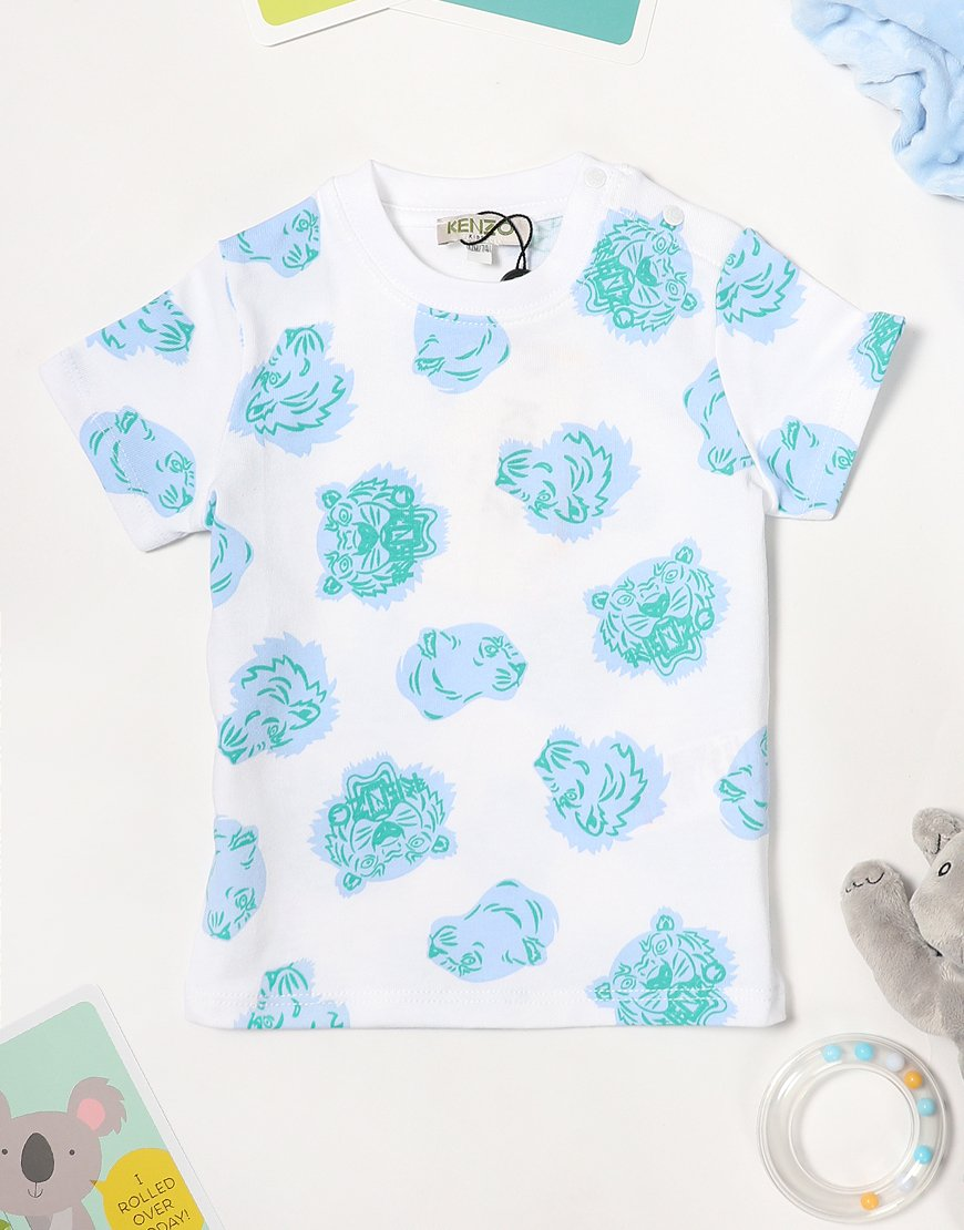 Kenzo Baby Fil T-Shirt Optic White