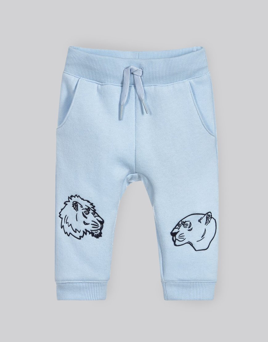 Kenzo Kids Elvio Joggers Light Blue