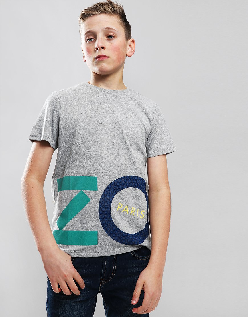 26b589d7 Kenzo Kids Filou T-Shirt Marl Grey - Terraces Menswear
