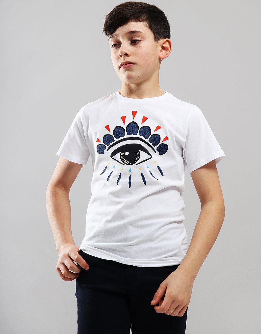 Kenzo Kids Flavio T-Shirt White