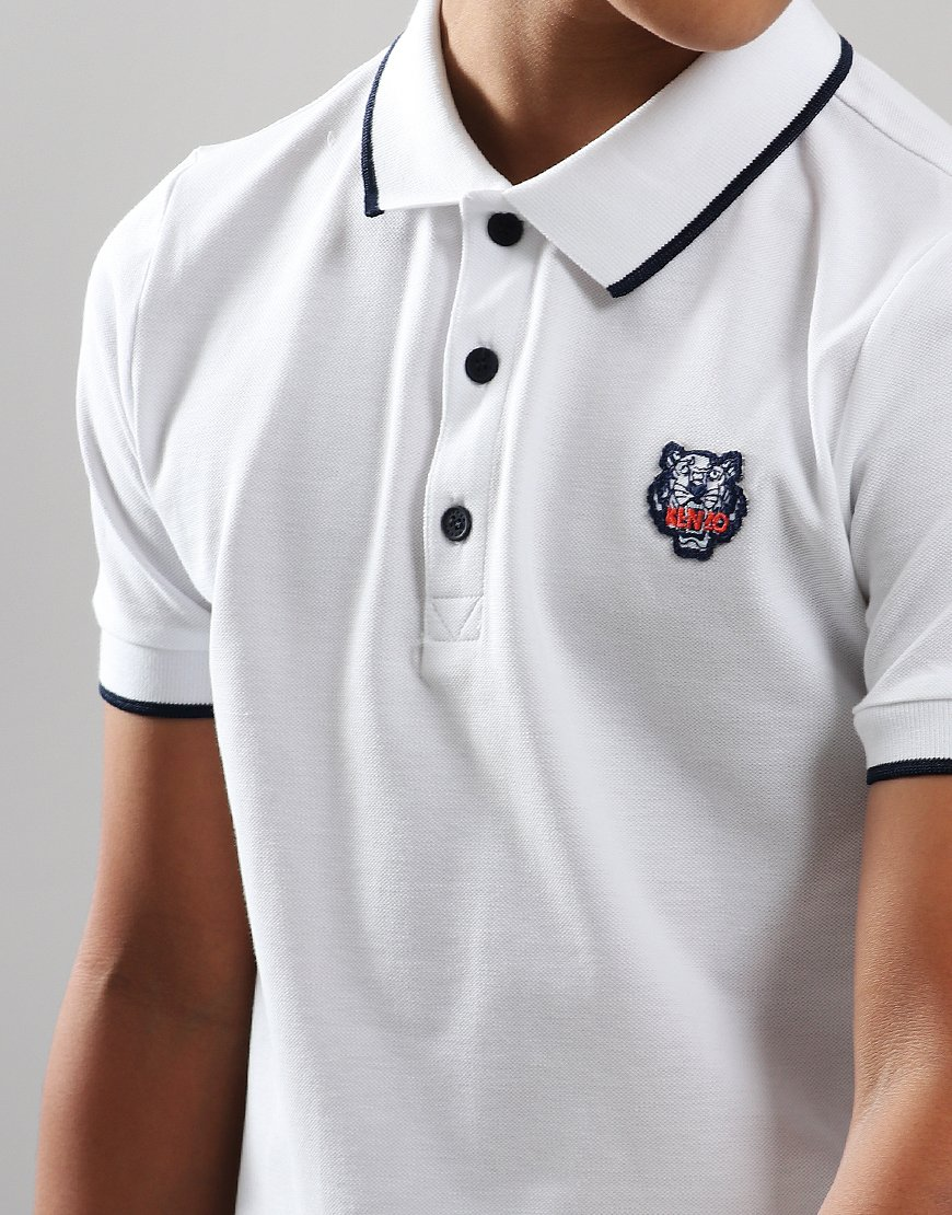 abb2c20a13 Kenzo Kids JB1 Polo Shirt Optic White - Terraces Menswear