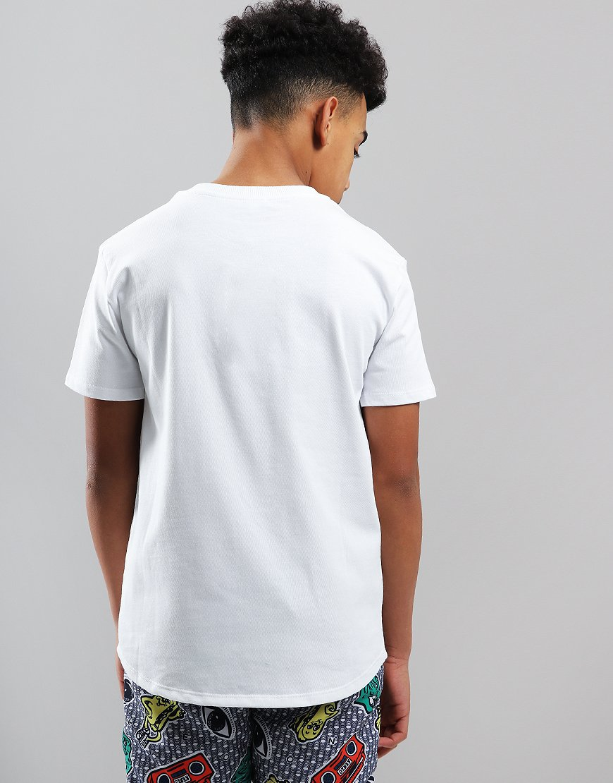 21e400119 Kenzo Kids Logo JB2 T-Shirt Optic White - Terraces Menswear
