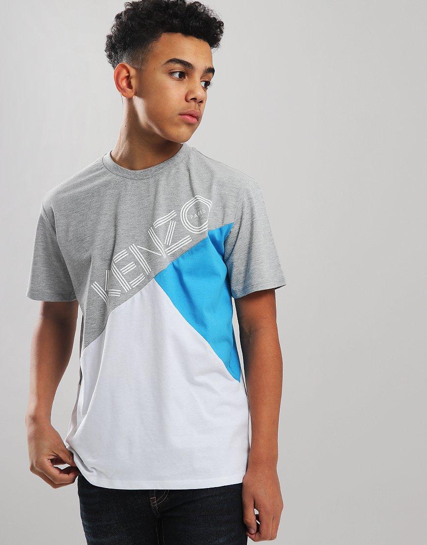 Kenzo Kids Logo JB 3 T-Shirt Optic White