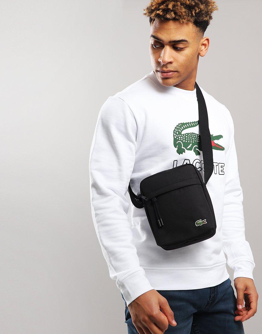 Lacoste Camera Side Bag Black