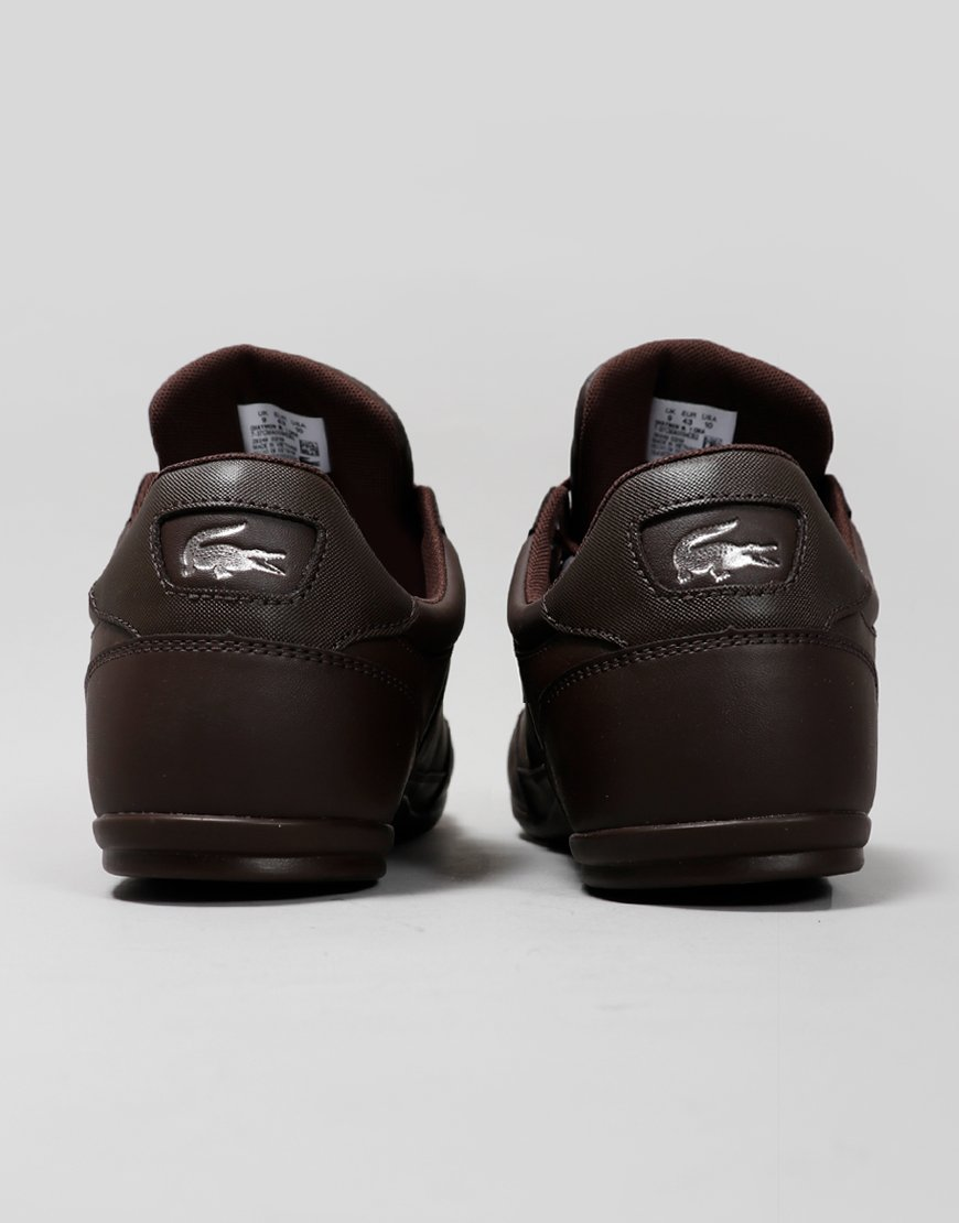 Lacoste Chaymon 319 Leather Trainers Dark Brown