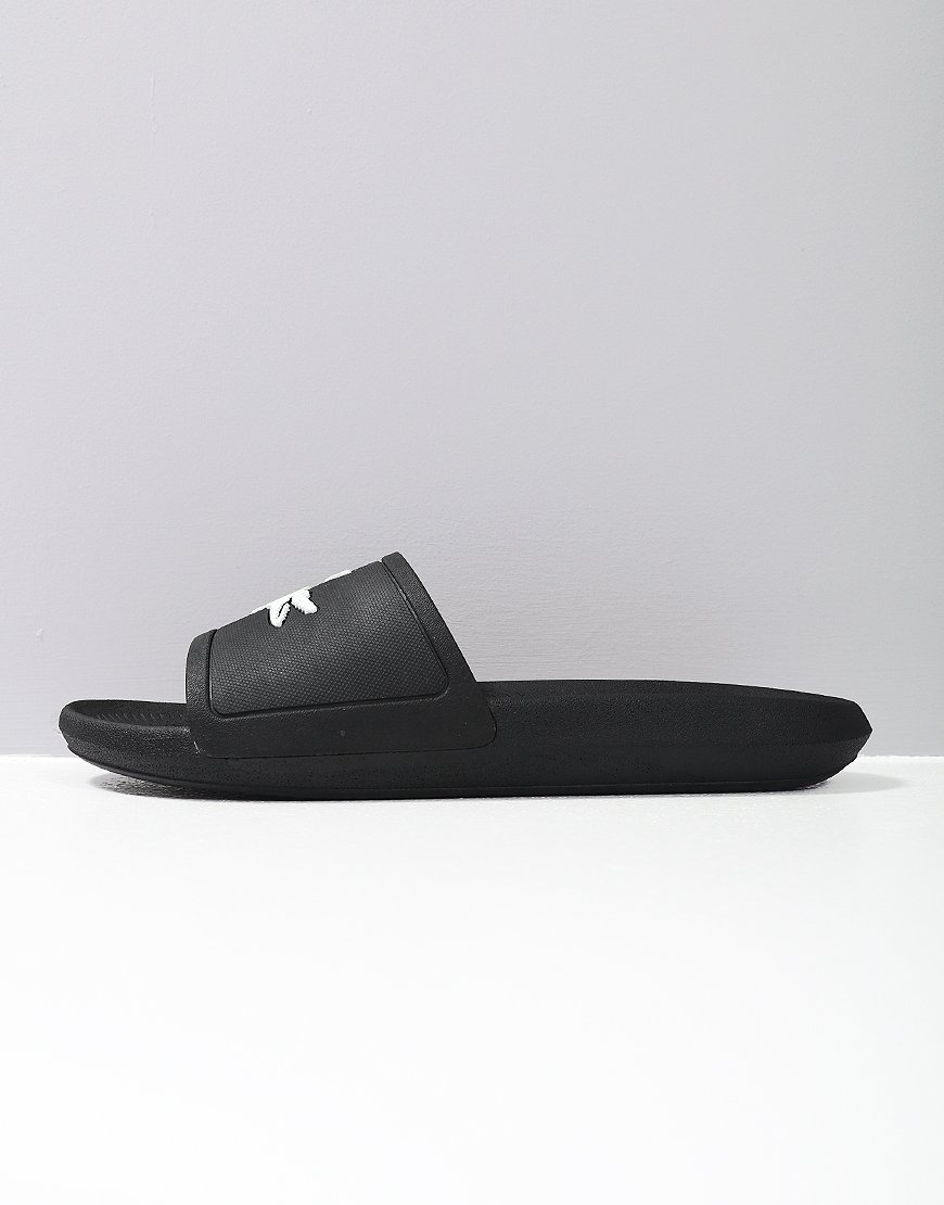 Lacoste Croc Slides 119 Black/White