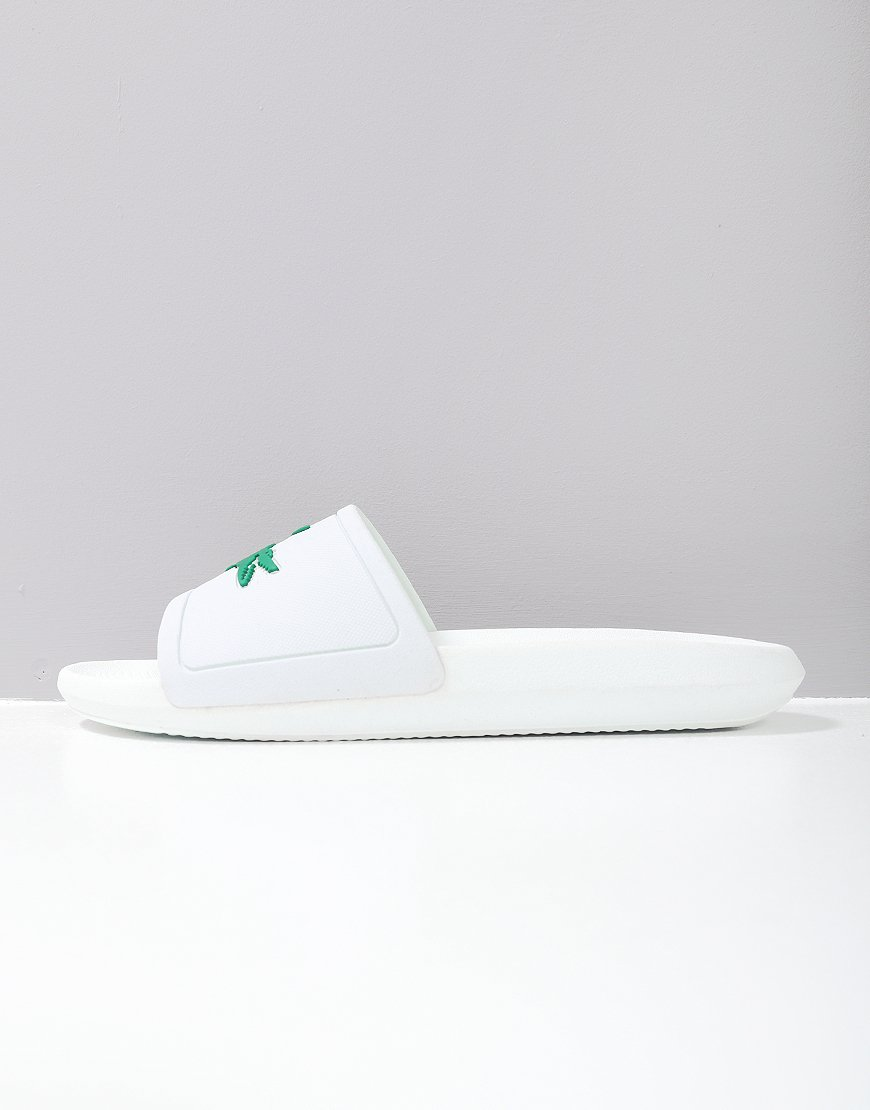 Lacoste Croc Slides 119 Green/White