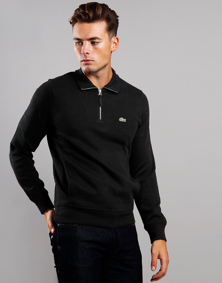 Lacoste Half Zip Sweat Black