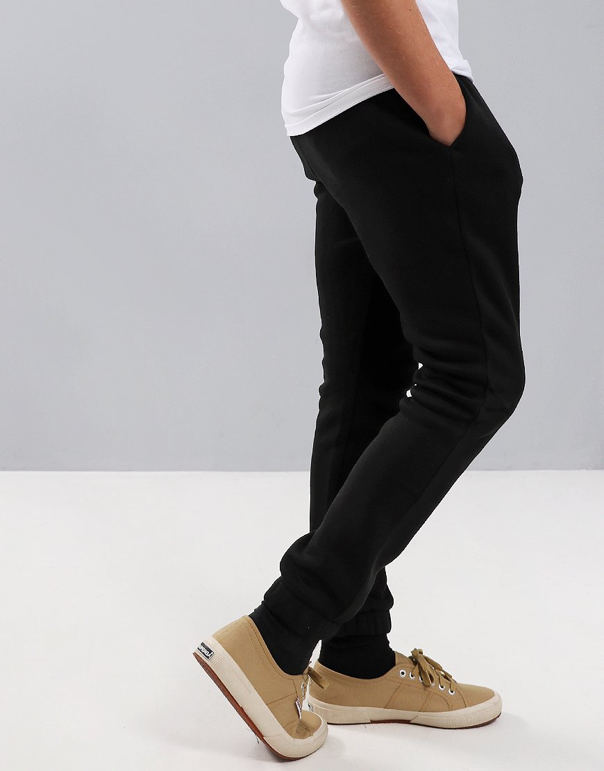 Lacoste Kids Small Logo Joggers Black