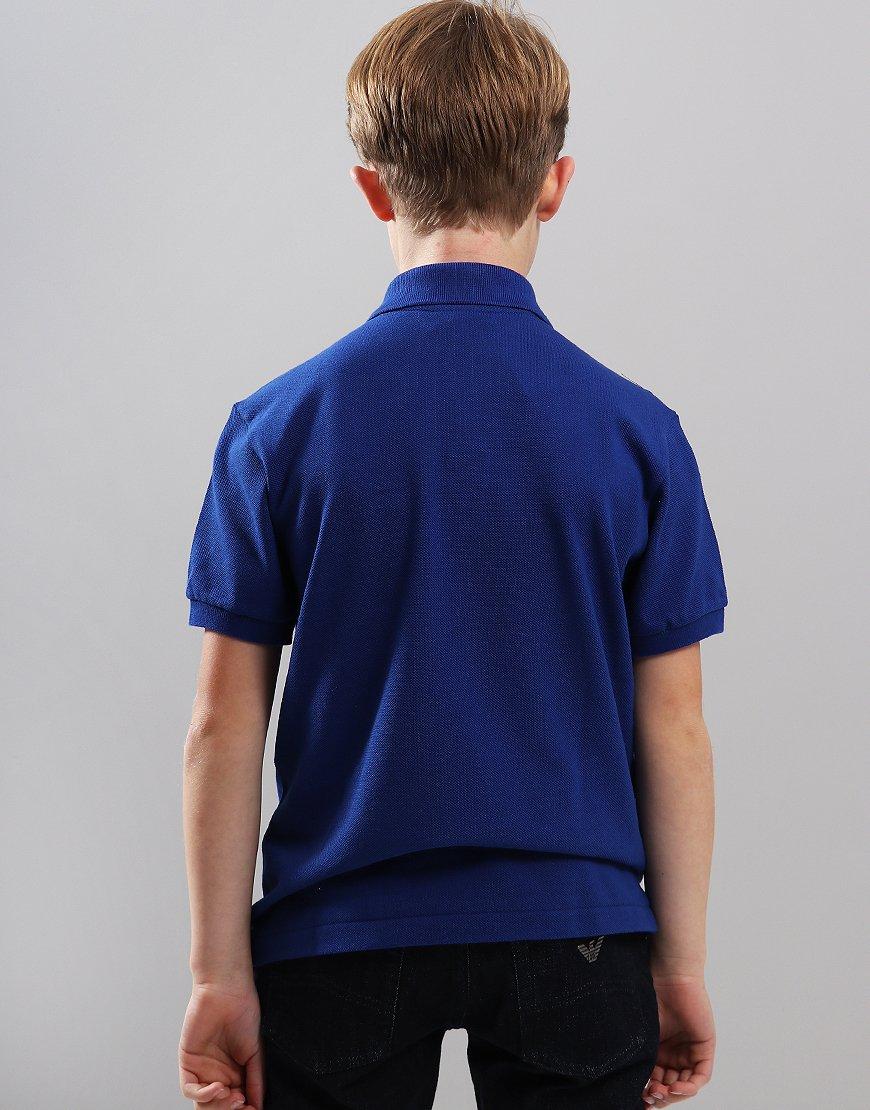 ba7c6c0d Lacoste Kids Plain Polo Shirt Captain - Terraces Menswear