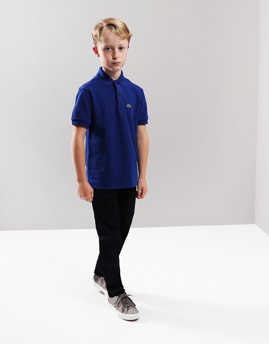 939668a4a Lacoste Kids Plain Polo Shirt Captain - Terraces Menswear