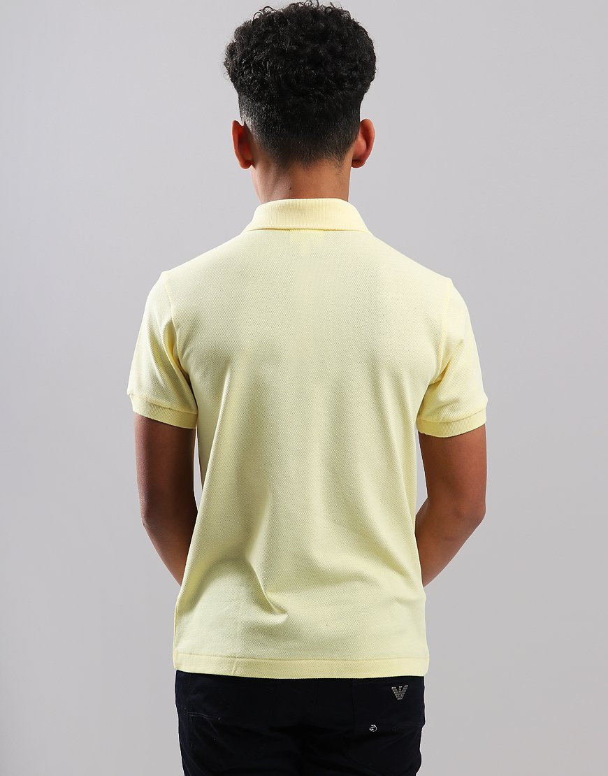 30f2b146 Lacoste Kids Plain Polo Shirt Neapolitan Yellow - Terraces Menswear