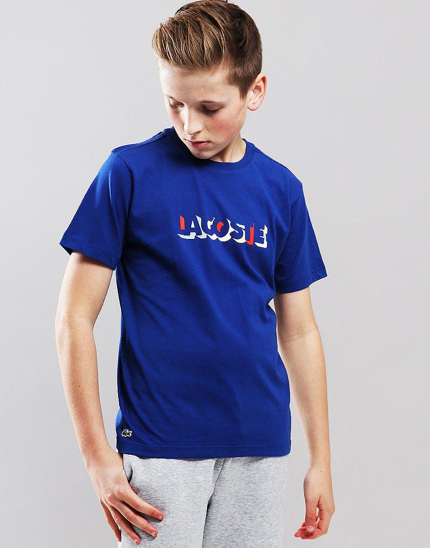 18c35b331 Lacoste Kids Script T-Shirt Captain