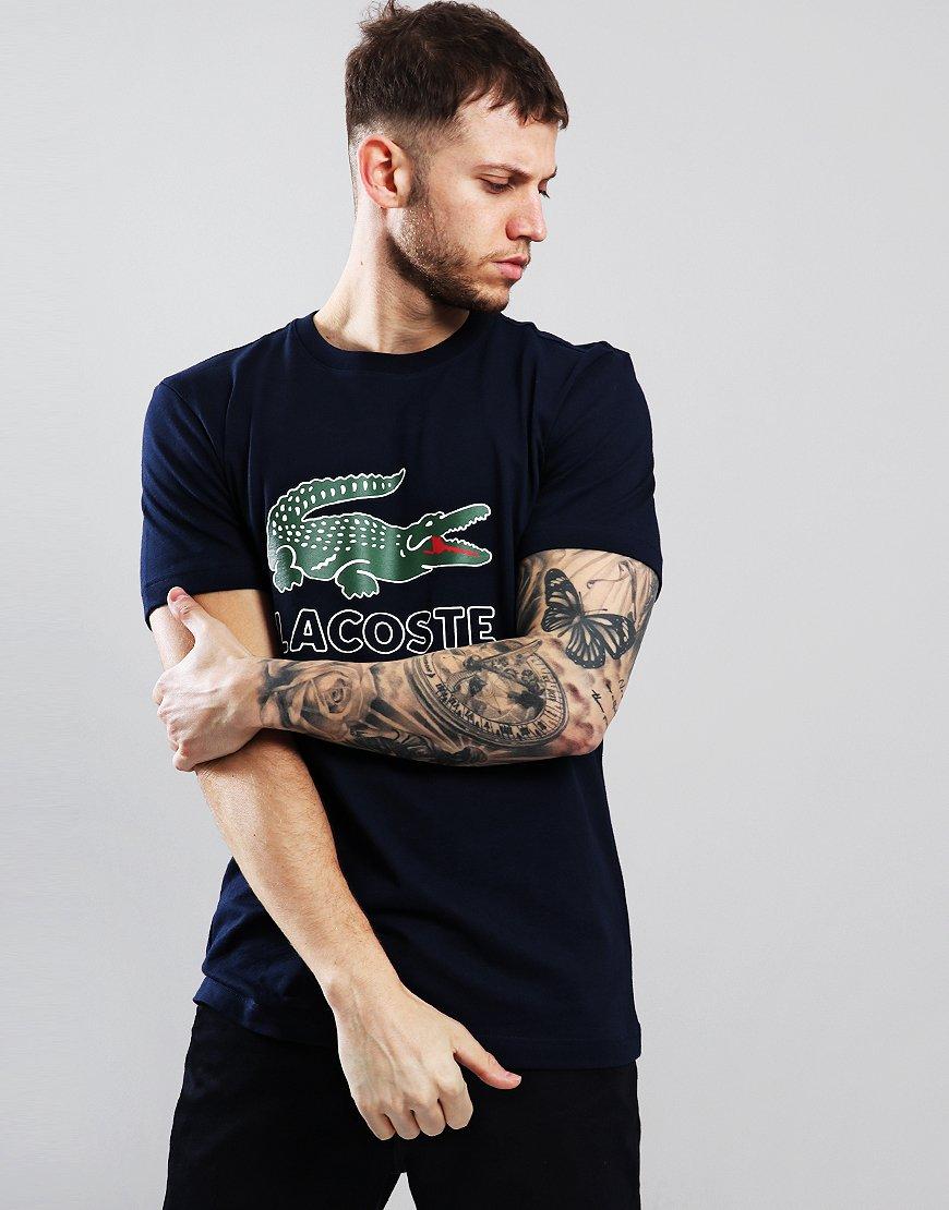 Lacoste Large Logo T-Shirt Navy