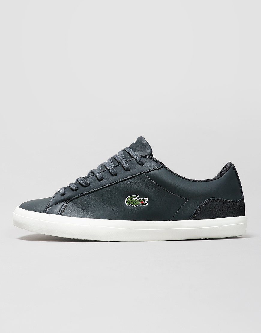 Lacoste Lerond 119 Trainers Dark Grey/Off White