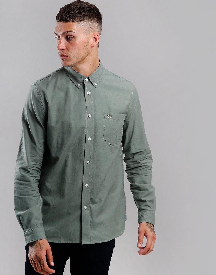 Lacoste Woven Oxford Long Sleeve Shirt Sergeant