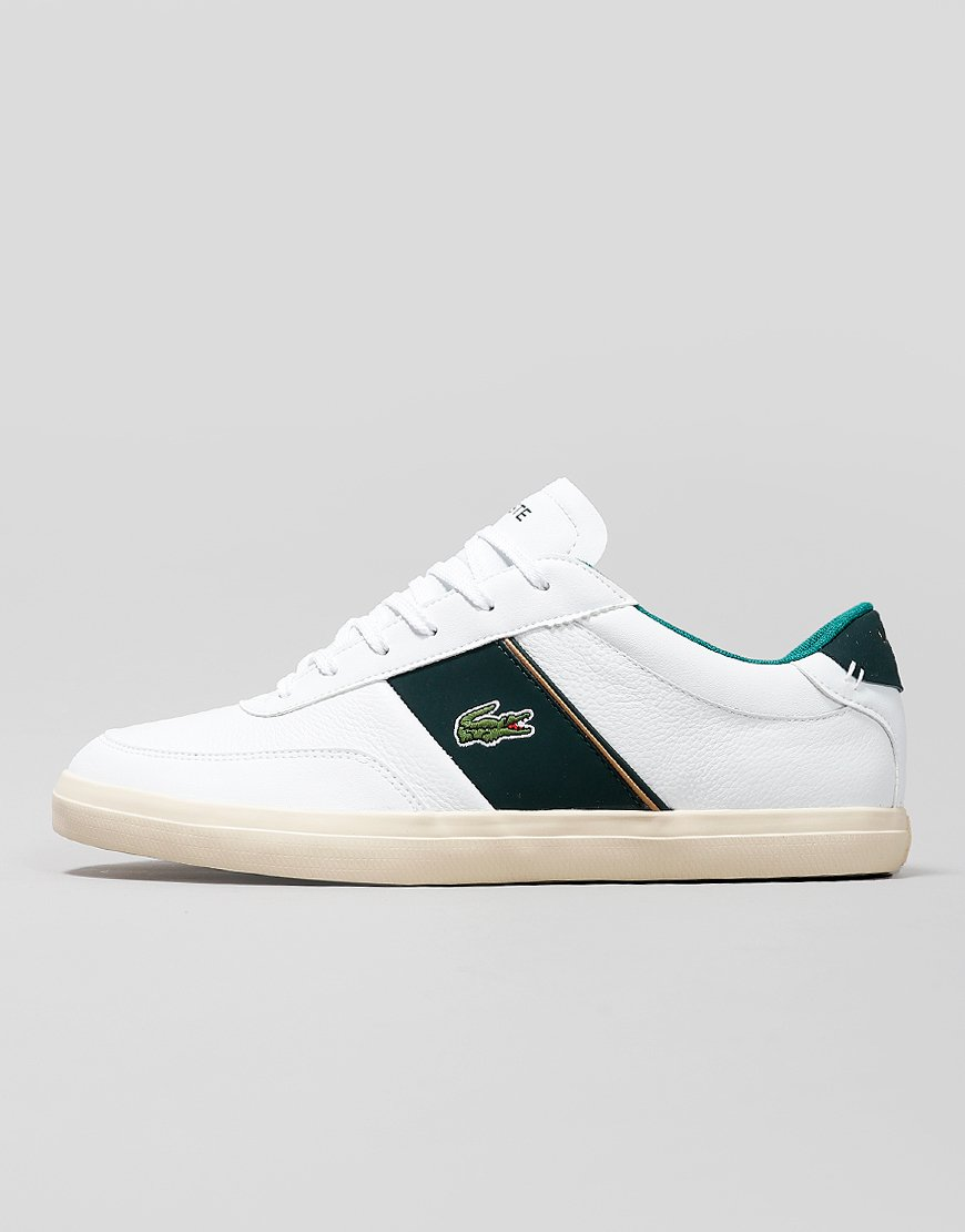 Lacoste Court-Master Trainers White/Dark Green