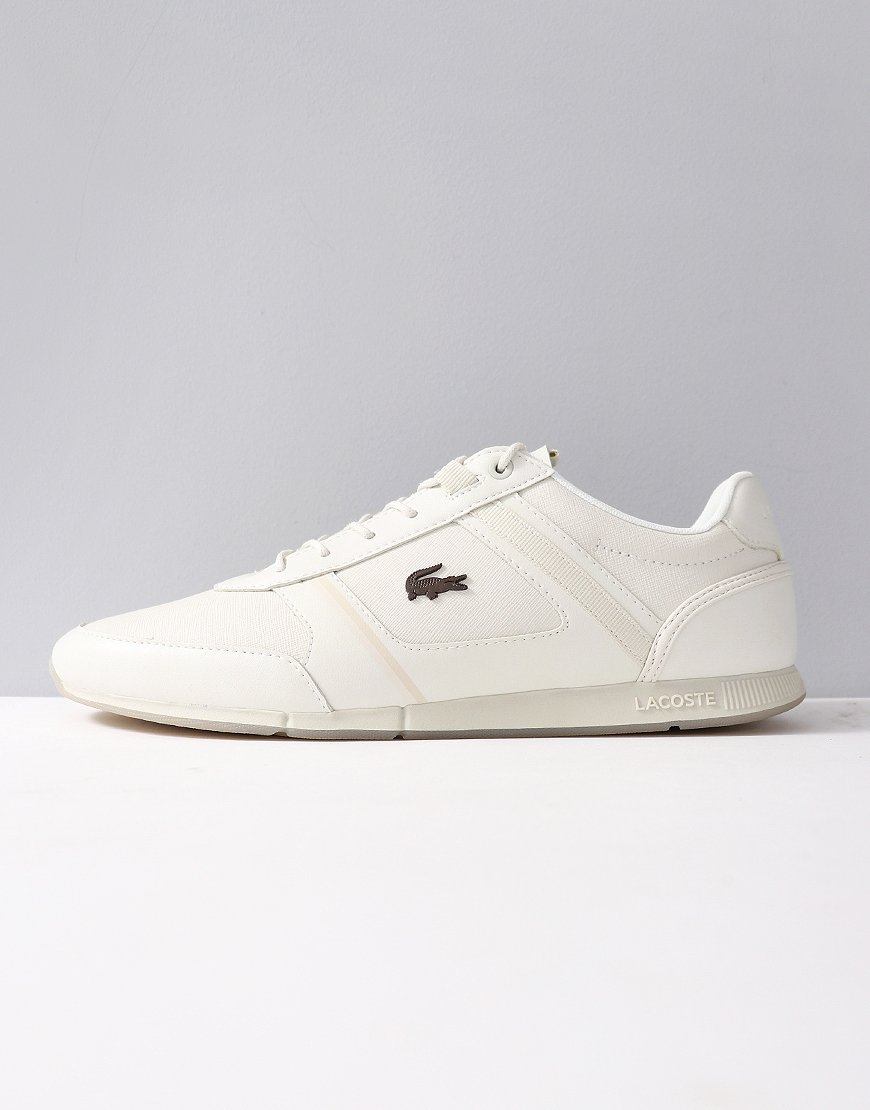 Lacoste Menerva 318 Leather Trainers White