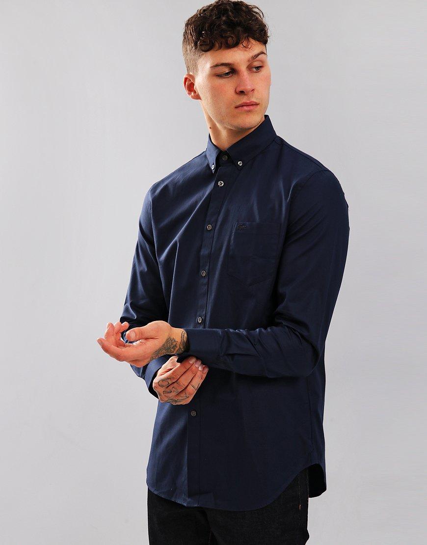 Lacoste Mini Pique Shirt Navy