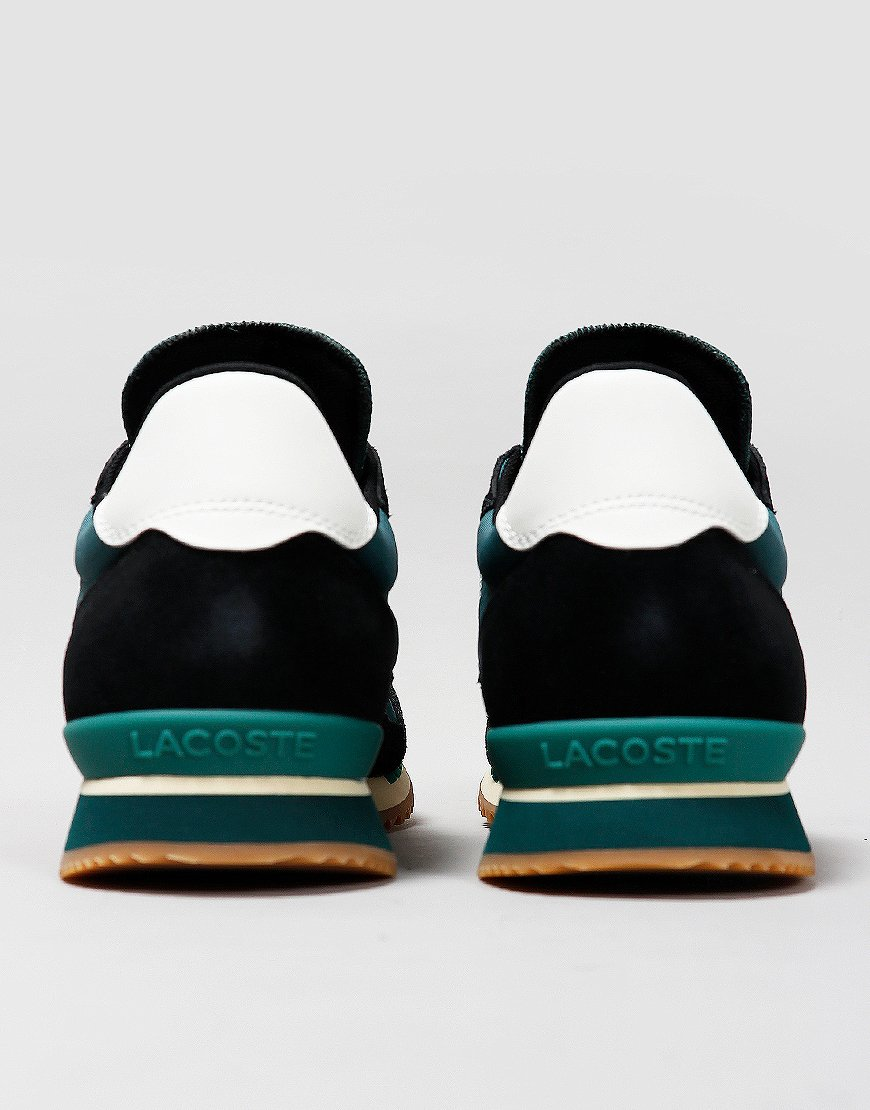 Lacoste Partner Trainers Dark Green/Off White