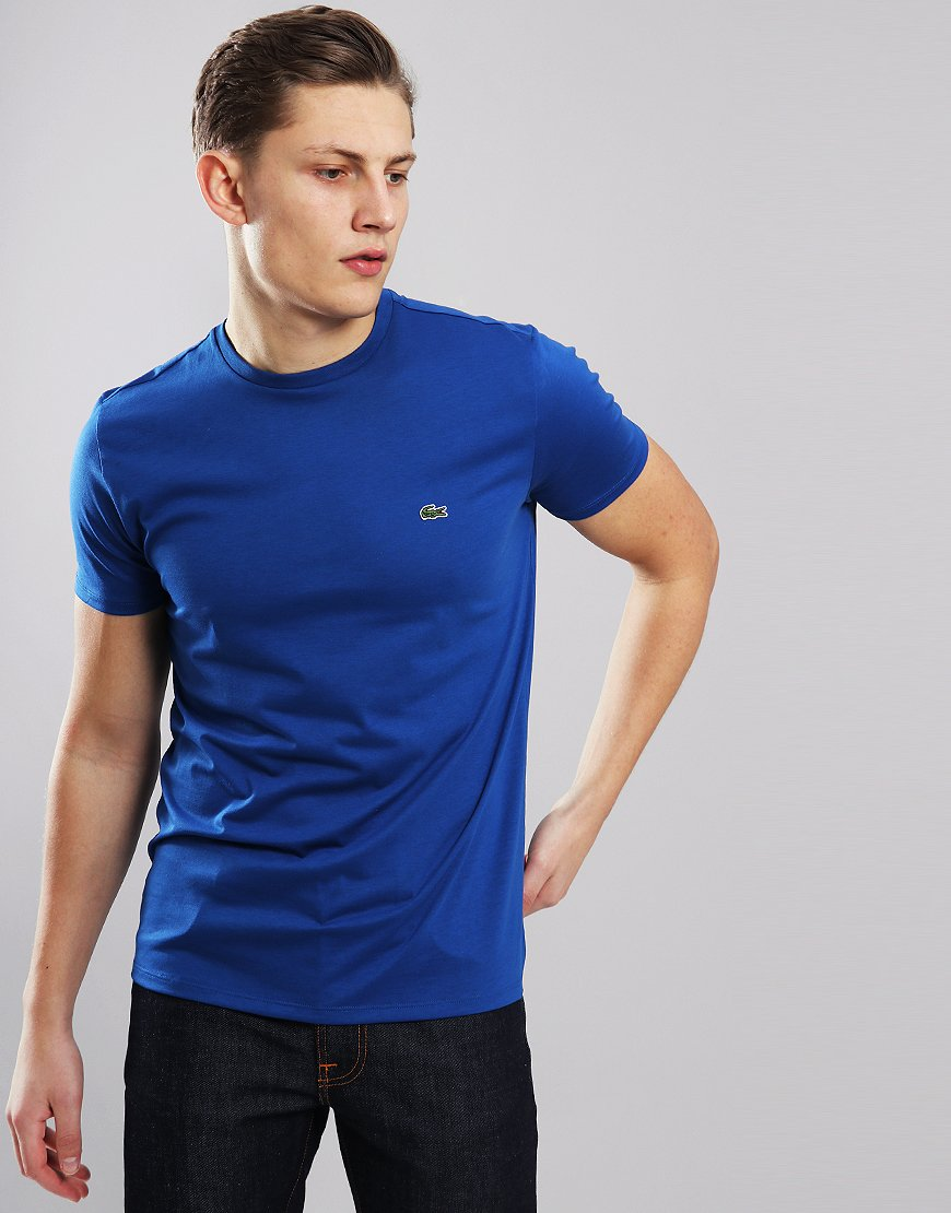 Lacoste Plain  T-Shirt  Electric