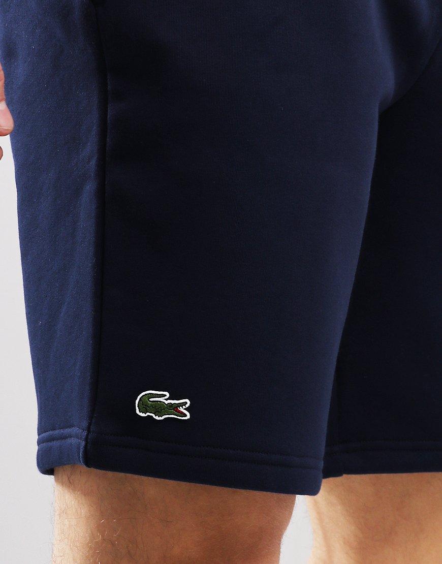 Lacoste SPORT Tennis Fleece Shorts Navy Blue