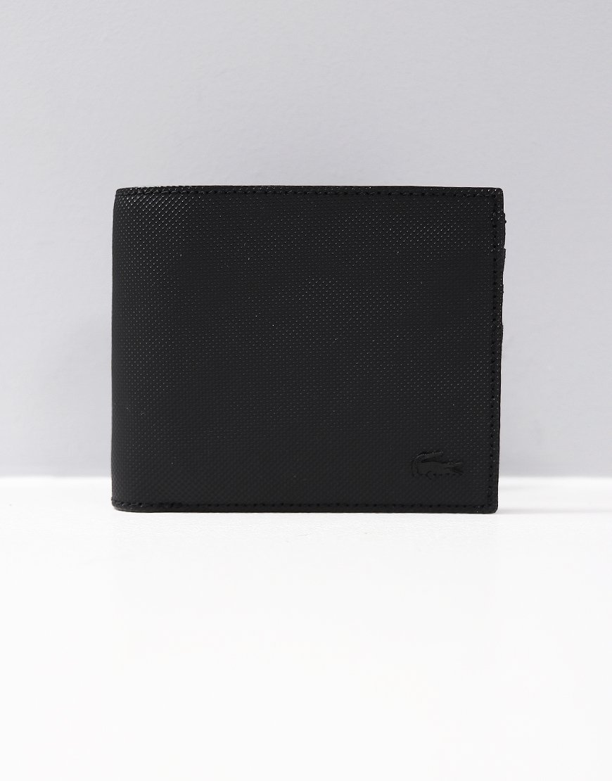 Lacoste Billfold/Coin Wallet Black