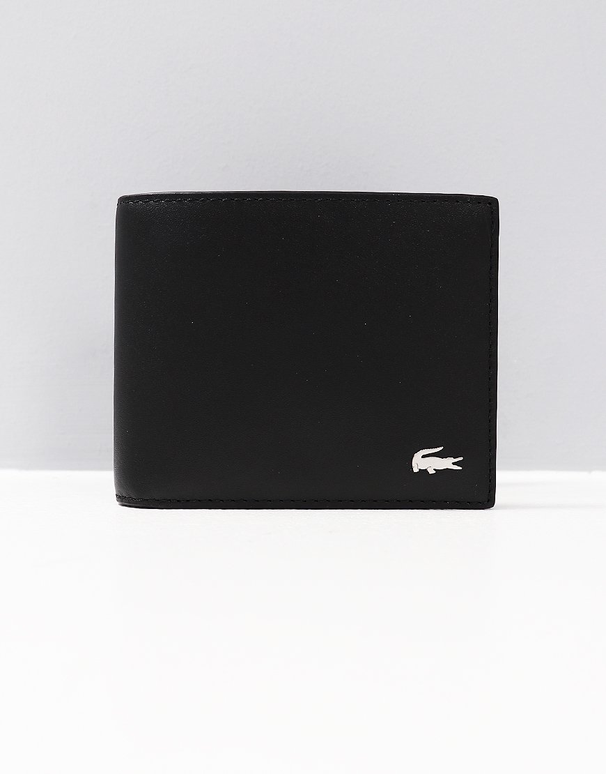 Lacoste Small Billfold Wallet Black