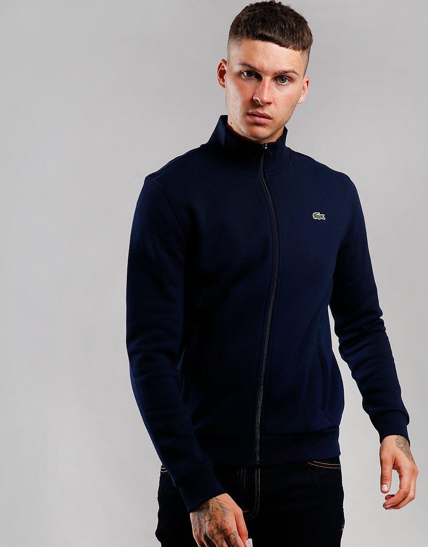 Lacoste SPORT Zip Through Fleece Navy Blue