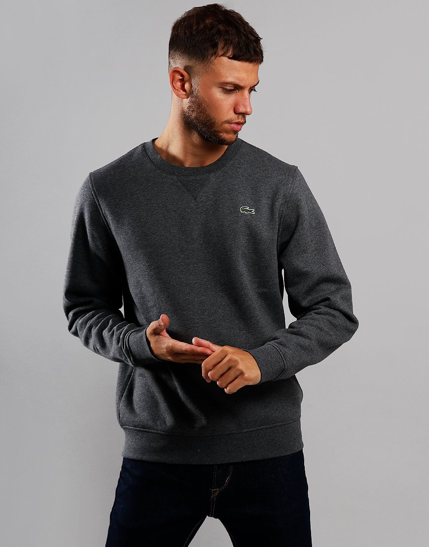 Lacoste SPORT Crew Neck Sweat Pitch Chine