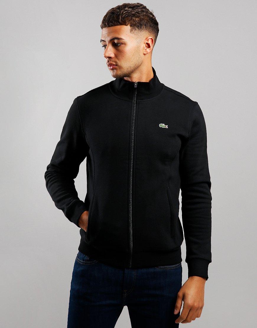 Lacoste SPORT Zip Through Fleece Black
