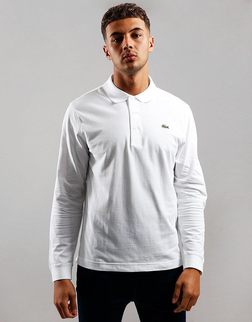 Lacoste SPORT Long Sleeve Polo Shirt White