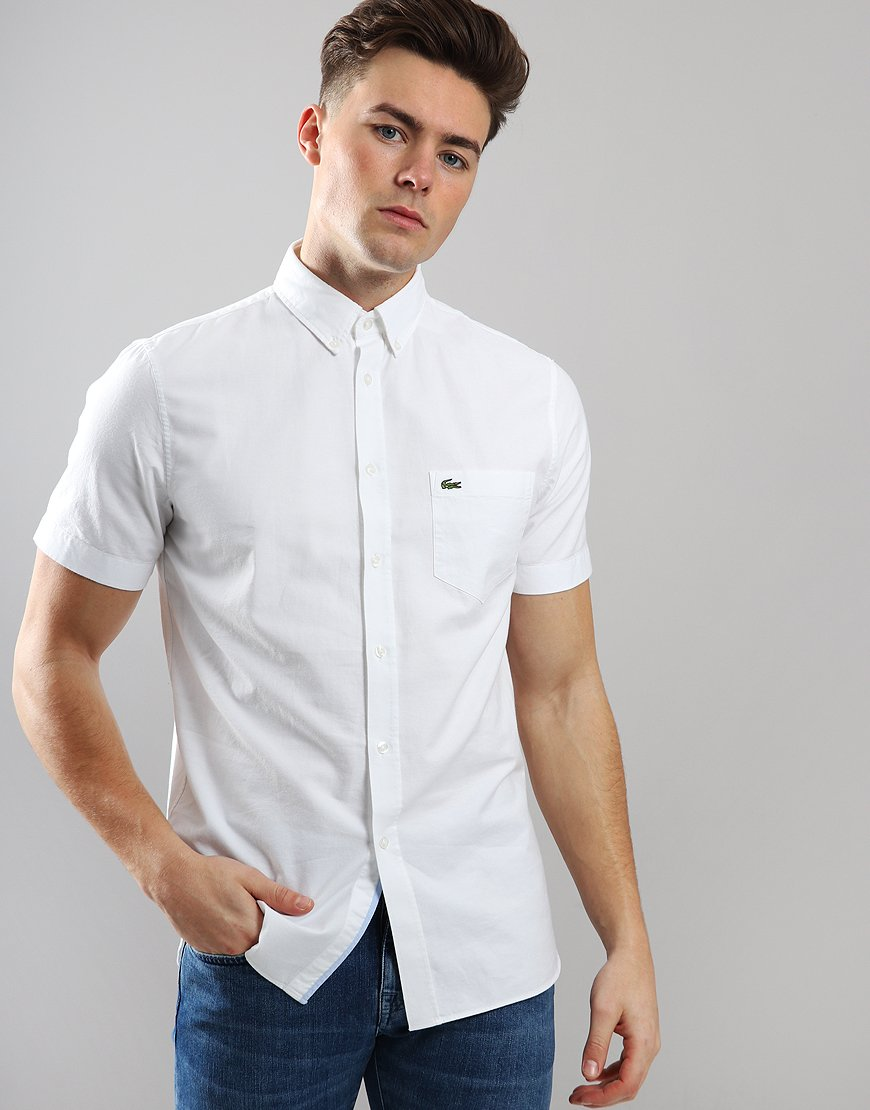 Lacoste Woven Shirt White