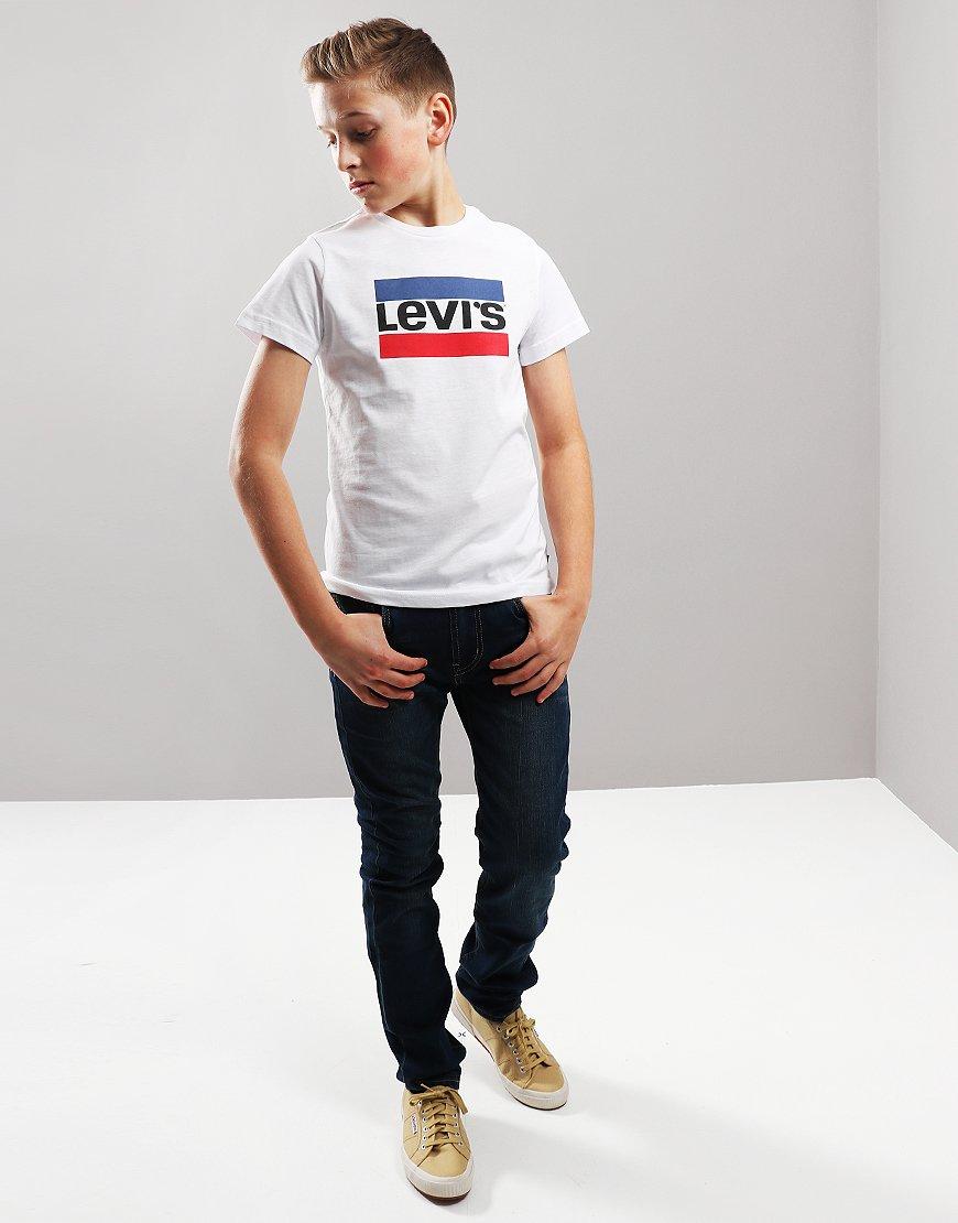 Levi's Kids Hero T-Shirt White